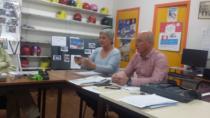: VISITE DE MADAME ALBALADEJO ADJOINTE AUX SPORTS DE LA VILLE DALES